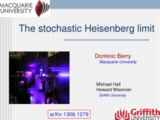 The stochastic Heisenberg limit