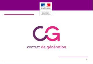Le contrat de génération  issu d ' un accord unanime des partenaires sociaux