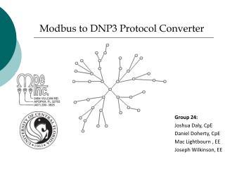 Modbus to DNP3 Protocol Converter