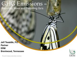 GHG  Emissions –