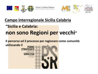 Campo interregionale Sicilia Calabria