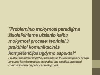 Assoc.prof. Nijolė Čiučiulkienė