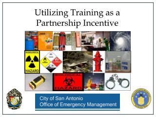 Utilizing Training as a Partnership Incentive