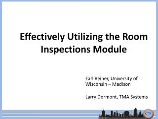 Effectively Utilizing the Room Inspections Module