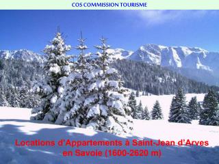 COS COMMISSION TOURISME
