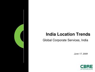 India Location Trends