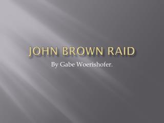 John Brown raid