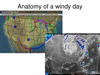 Anatomy of a windy day