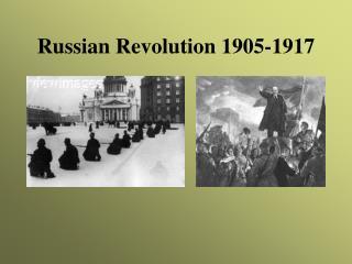 Russian Revolution 1905-1917