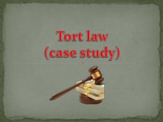 Tort  law ( case  study )