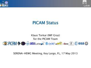 PICAM Status