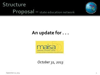 Structure  Proposal –  state education network