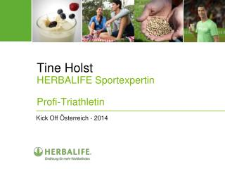 Tine Holst HERBALIFE Sportexpertin Profi-Triathletin
