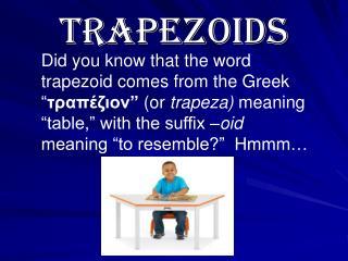 Trapezoids