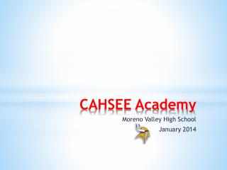 CAHSEE Academy