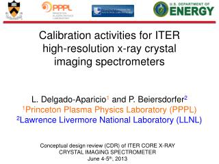 Calibration activities for ITER high - resolution x -ray  crystal imaging  spectrometers