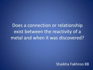 Shaikha Fakhroo 8B
