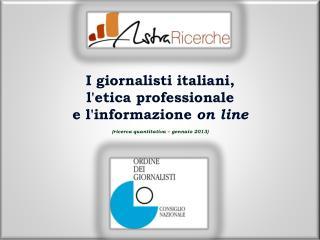 I giornalisti italiani,