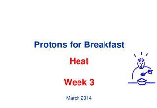 Protons for Breakfast Heat Week 3