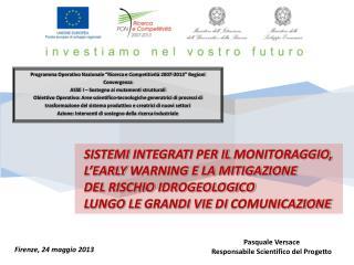 """Programma Operativo Nazionale """"Ricerca e Competitività 2007-2013"""" Regioni Convergenza"""