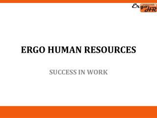 Ergo  Human Resources