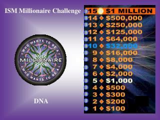 ISM Millionaire Challenge