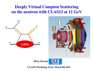 Deeply Virtual Compton Scattering on the neutron with CLAS12 at 11  GeV