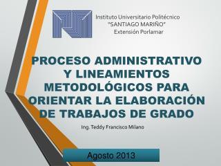 """Instituto Universitario Politécnico           """"SANTIAGO MARIÑO""""                Extensión Porlamar"""