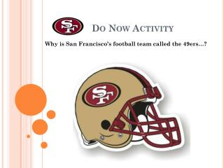 Do Now Activity