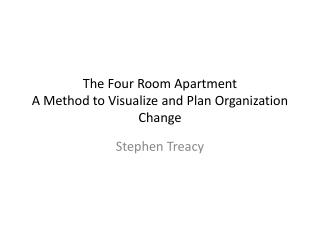 The Four Room Apartment A Method to Visualize and Plan Organization Change