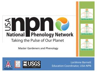 Master Gardeners and Phenology