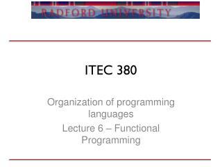 ITEC 380