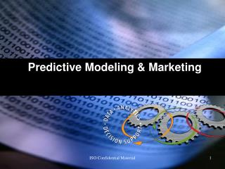 Predictive Modeling  Marketing