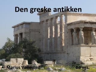 Den greske antikken