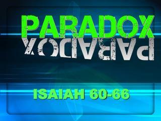 ISAIAH 60-66