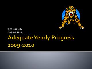 Adequate Yearly Progress 2009-2010