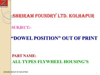 Shriram foundry ltd. kolhapur