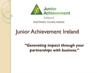 Junior Achievement Ireland