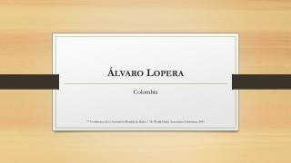 Álvaro Lopera