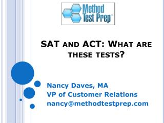 SAT and ACT: What are these tests?