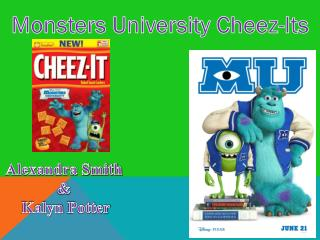 Monsters University  Cheez -Its