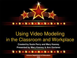 Using Video Modeling in the Classroom and Workplace