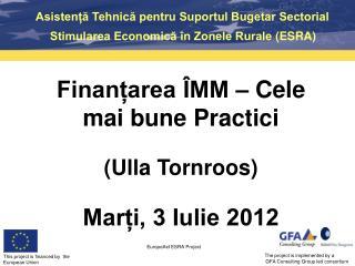 Asistență Tehnică pentru Suportul Bugetar Sectorial