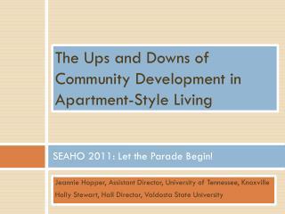 SEAHO 2011: Let the Parade Begin!