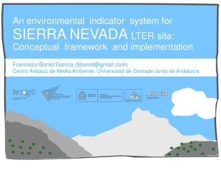 An environmental  indicator  system for
