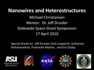Nanowires and Heterostructures