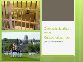 D esocialization and Resocialization