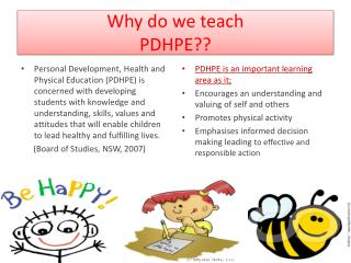 Why do we teach  PDHPE??