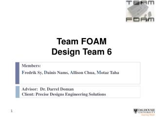 Team FOAM Design Team 6