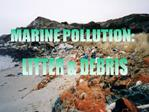 MARINE POLLUTION:
